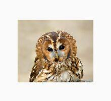 Tawny Owl head shot Unisex T-Shirt