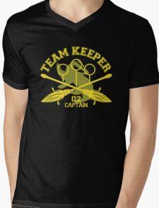 Hufflepuff - Quidditch - Team Keeper Mens V-Neck T-Shirt