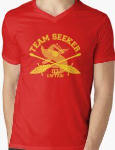 Hufflepuff - Quidditch - Team Seeker Mens V-Neck T-Shirt
