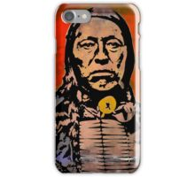 Chief Flying Hawk-The Sioux iPhone Case/Skin
