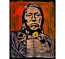 Chief Flying Hawk-The Sioux Photographic Print