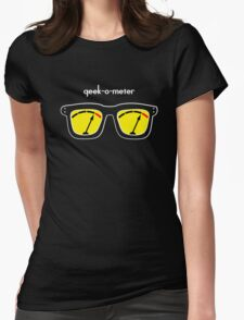 Geek-O-Meter Womens Fitted T-Shirt