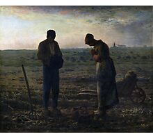 The Angelus by Jean-François Millet (1857-1859) Photographic Print