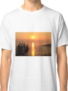 Orange Sunset - Nature Photography Classic T-Shirt