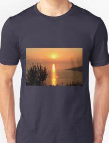 Orange Sunset - Nature Photography T-Shirt