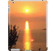 Orange Sunset - Nature Photography iPad Case/Skin