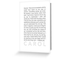 Carol (2015) - The Letter Greeting Card