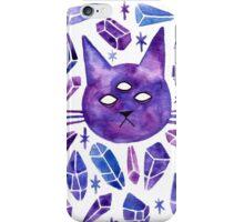 Cat & Gems iPhone Case/Skin