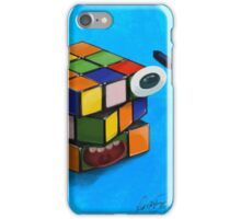Rubik's cube iPhone Case/Skin