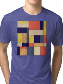 Abstract #350 Tri-blend T-Shirt