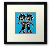 Thing 1 & Thing 2 Framed Print