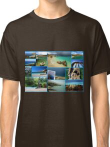Collage/Postcard from Albania 3 - Travel Photography Classic T-Shirt