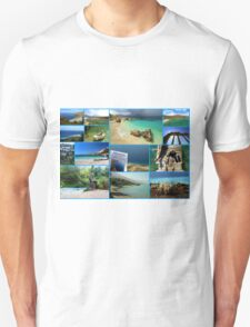Collage/Postcard from Albania 3 - Travel Photography Unisex T-Shirt