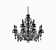Crystal Chandelier Black Silhouette Classic T-Shirt