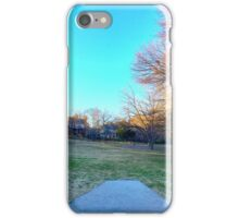 Neighborhood Disc Golf iPhone Case/Skin