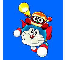 Doraemon Flying Dorayaki  Photographic Print