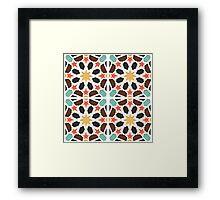 Tiles Pattern Framed Print