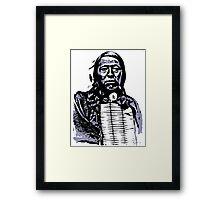 Chief Flying Hawk-The Sioux 2 Framed Print