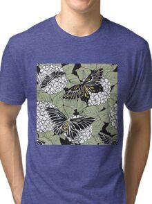 Dark Butterflies Tri-blend T-Shirt