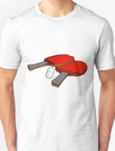 Valentine's ping pong paddles T-Shirt