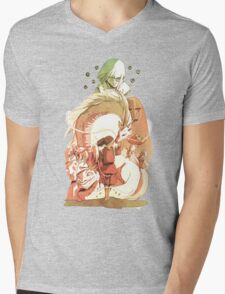 Spirited Away Mens V-Neck T-Shirt