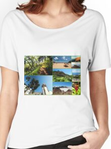 Collage from Portugal (Madeira) 3 - Travel Photography Women's Relaxed Fit T-Shirt