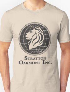 Stratton Oakmont T-Shirt Wolf of Wall Street Tshirt Jordan Belfort Ludes T Shirt Movie Cult Gift Martin Scorsese Him Her Logo Stock Market T-Shirt