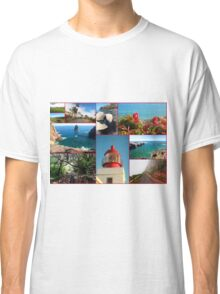 Collage from Portugal (Madeira) 2 - Travel Photography Classic T-Shirt