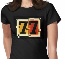 seven seven Womens Fitted T-Shirt