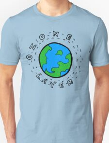 Earth's Ozone Layer Drawing Unisex T-Shirt
