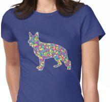 German Shepherd, Easter Jellybean Womens Fitted T-Shirt