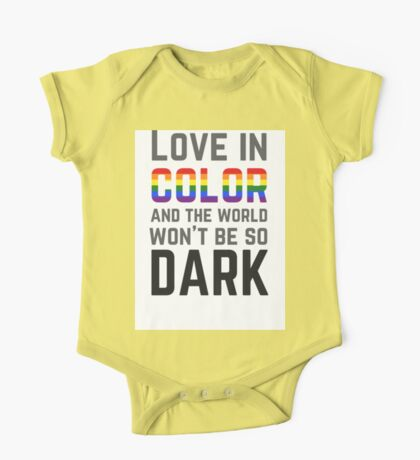 Love in Color One Piece - Short Sleeve
