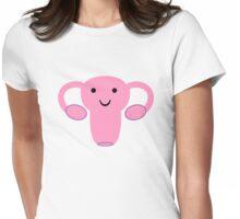 Happy Uterus :) Womens Fitted T-Shirt