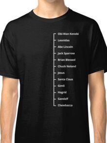Beard Like T-Shirt | Famous Facial Hair Tee | Mens Beard Measuring Tshirt Classic T-Shirt