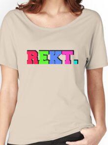 REKT (CSGO) Women's Relaxed Fit T-Shirt