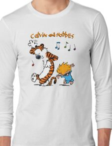 Calvin & Hobbes Dance Long Sleeve T-Shirt