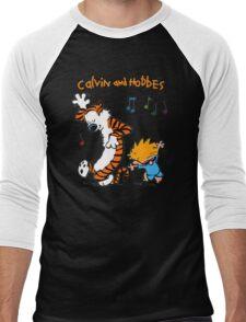Calvin & Hobbes Dance Men's Baseball ¾ T-Shirt