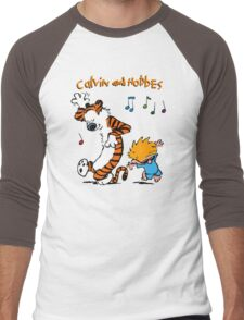 Calvin & Hobbes Dance Men's Baseball ¾ T-Shirt
