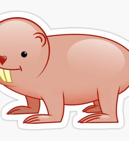 Naked Mole-Rat Sticker