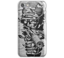 French Navy Combat Diver iPhone Case/Skin