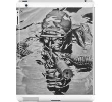 French Navy Combat Diver iPad Case/Skin