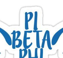 Pi Beta Phi wings Sticker