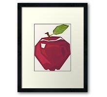 Vector Apple Framed Print