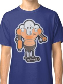 Robot Skull Heads Machine Classic T-Shirt