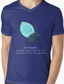 Choanoflagellate Mens V-Neck T-Shirt