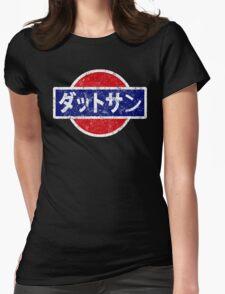 Datsun - retro, Japanese Womens Fitted T-Shirt