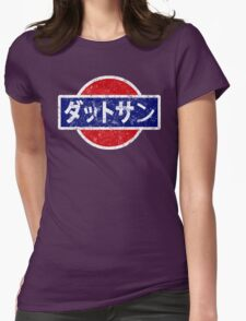 Datsun - retro, Japanese Womens Fitted T-Shirt