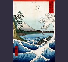 Utagawa Hiroshige The Sea at Satta in Suruga Province Unisex T-Shirt