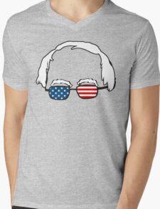 Bern in America Mens V-Neck T-Shirt
