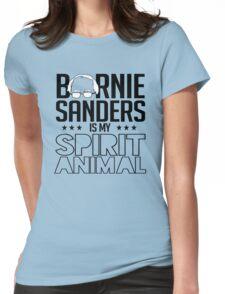 Bernie Sanders is my spirit animal Womens Fitted T-Shirt